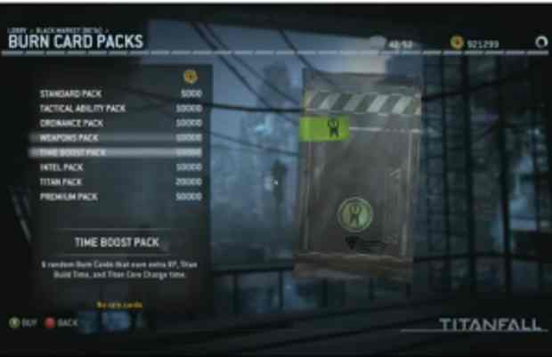 New Titanfall update will add a Black Market to the game, use in-game called Credits currency to buy items