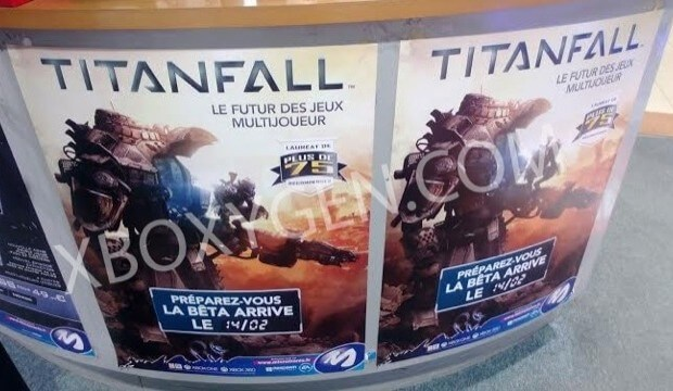 Leaked Poster reveals Titanfall Beta starts Feb. 14th