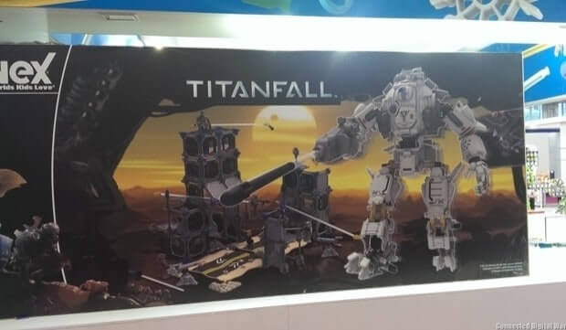 First Images of Titanfall K'Nex figures