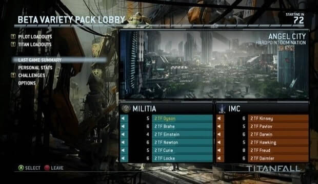 Respawn will add private matches to Titanfall post-launch
