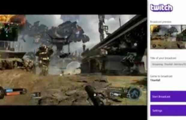 Twitch live broadcasting support coming to Xbox One on Titanfall launch day