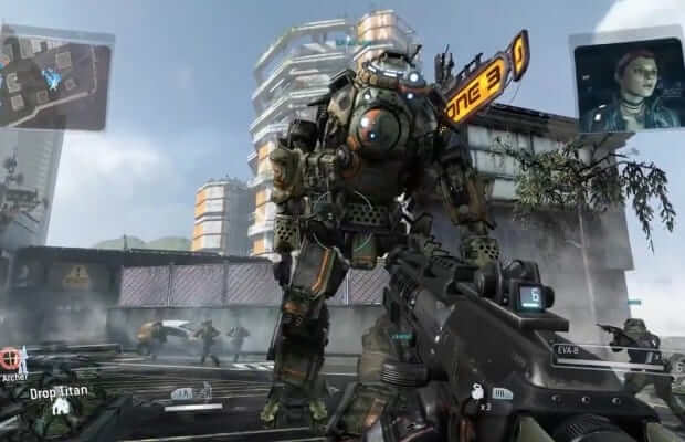 Titanfall can have almost 50 combatants in each game, including AI, players, and Titans
