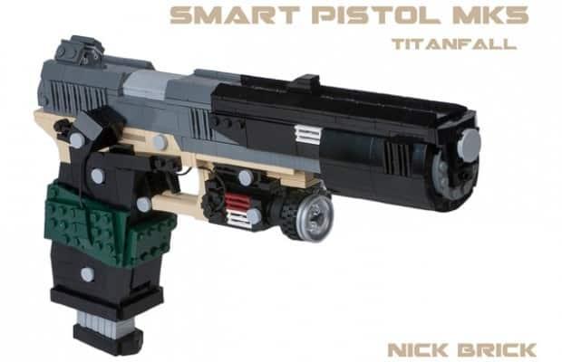 LEGO fan recreates Titanfall's 'Smart Pistol MK5′