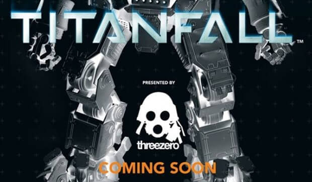20″ and 10″ Titanfall (Titan and Pilot) figures coming soon from 'Threezero'