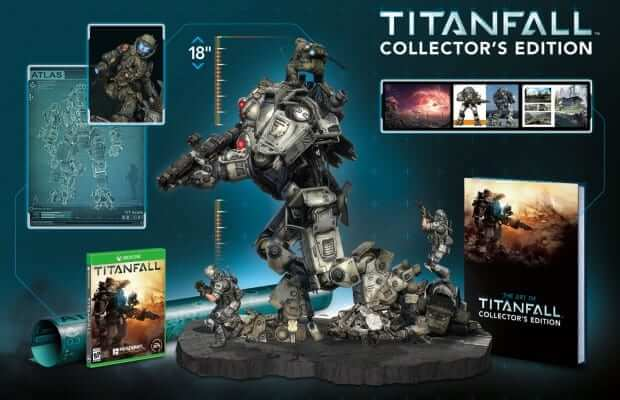 Titanfall Collector Edition revealed; comes with titan statue