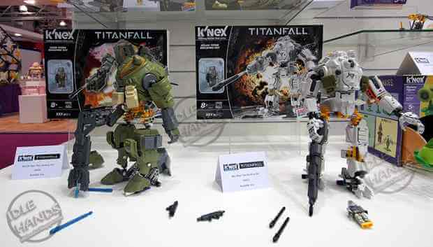 Over (14) new K'Nex Titanfall IMAGES from the NY Toy Fair
