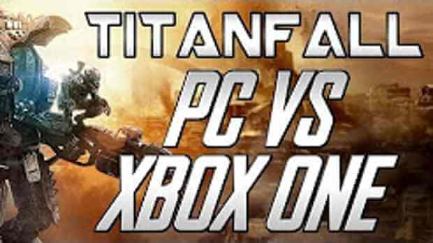 Titanfall PC vs. Xbox One footage