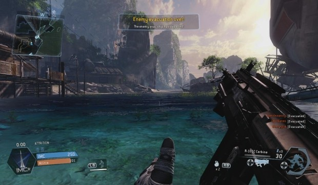 Titanfall runs at native 792p resolution on Xbox One, same as the Beta – reports of FPS drops