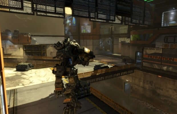 New details and images of the 'Runoff' map from the upcoming Titanfall Expedition DLC released