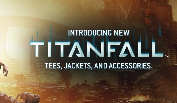 Official Titanfall merchandise store now open; t-shirts, accessories, and more available for purchase