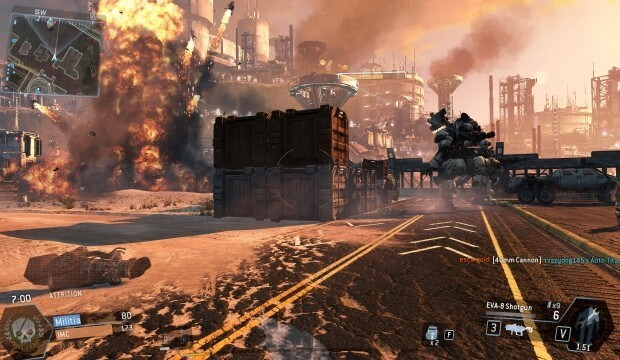 Gameplay videos and images of Titanfall retail – maps, weapons, creatures & more