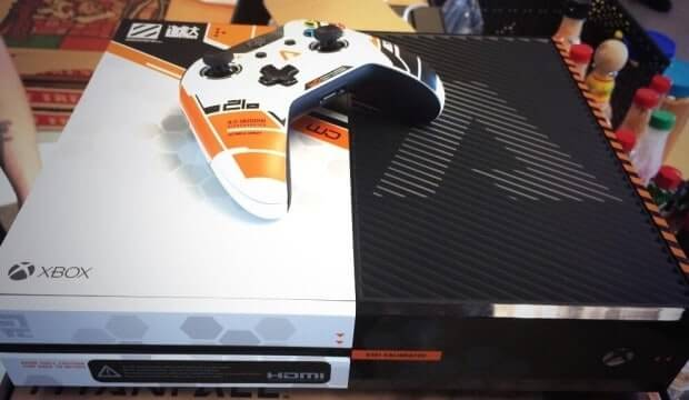 Exclusive Titanfall themed Xbox One's arrive at Respawn studios (not for sale)