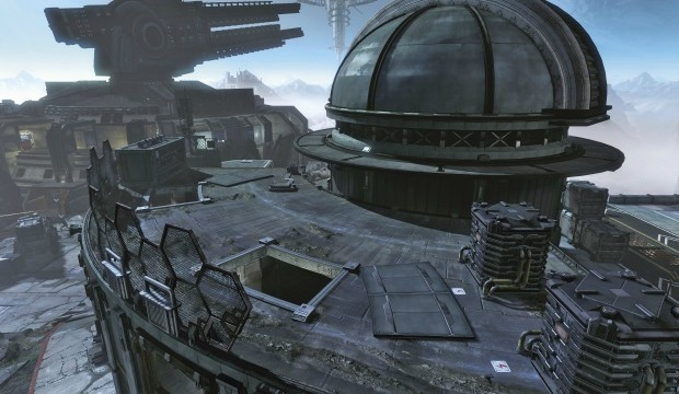 Titanfall maps feature Turrets – target everything including Titans and can be hacked