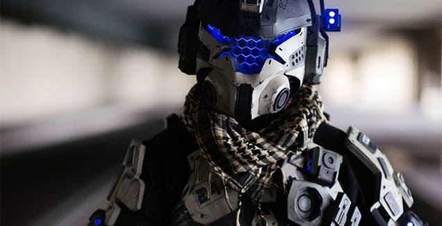 Checkout new Titanfall cosplay from CraftAccess