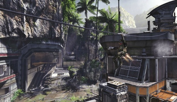 Titanfall maps feature Ziplines – travel in both directions