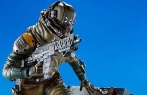 Gaming Heads announces Titanfall 'Militia Assault Pilot' 1/4 scale (23″) Statue